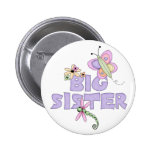 Cute Bugs Big Sister 6 Cm Round Badge