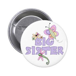 Cute Bugs Big Sister 6 Cm Round Badge