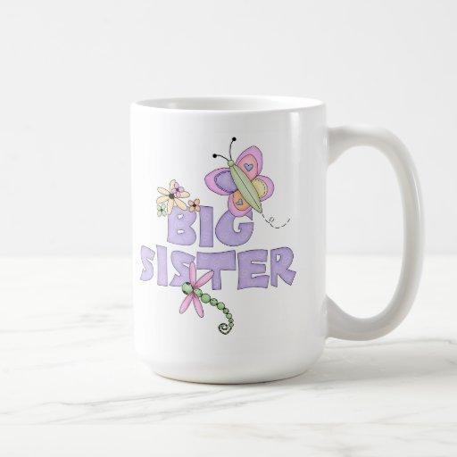 Cute Bugs Big Sister Mugs