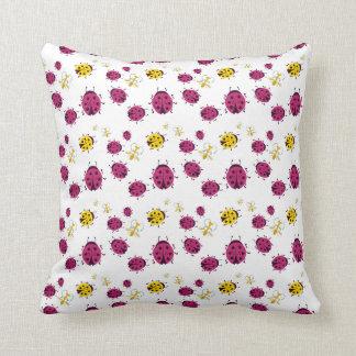 Cute Bugs Pattern Cushion