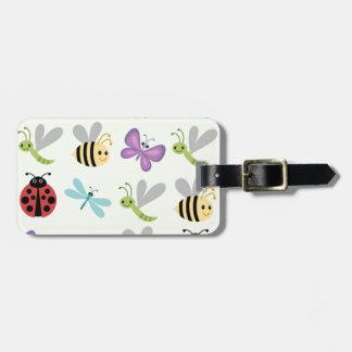 Cute Bugs Set Luggage Tag