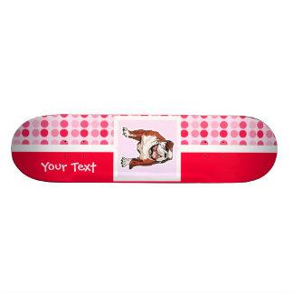 Cute Bulldog Skate Deck