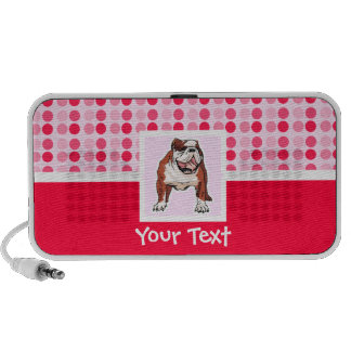 Cute Bulldog iPhone Speakers