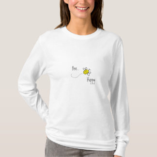 Cute Bumble Bee Ladies Tshirt