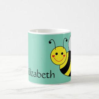 Cute Bumble Bee Personalised Coffee Mug