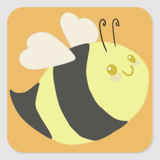 Cute Bumble Bee Stickers