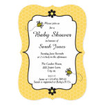 Cute Bumble Bee Themed Baby Shower Invitation 13 Cm X 18 Cm Invitation Card