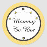 "Cute Bumble Bees ""Mummy To Bee"" Stickers"