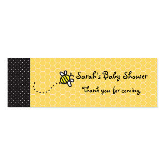 Cute Bumble Bees Thank You tags Business Cards