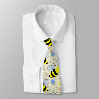 Cute Bumble Bees Tie