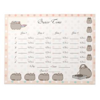 Cute Bunco sheet Notepad