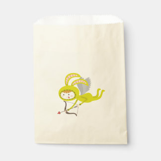 Cute Bunny Cupid Favor Bag