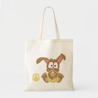 Cute Bunny Easter Tote Bag!