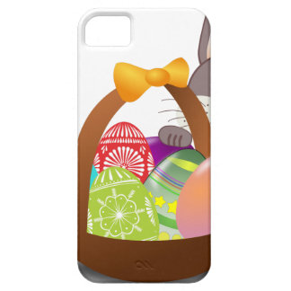 Cute bunny for happy easter day barely there iPhone 5 case