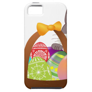 Cute bunny for happy easter day iPhone 5 covers