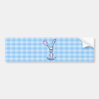 Cute Bunny Kawaii bumper sticker Car Bumper Sticker