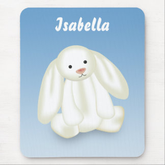"""Cute Bunny """"Name This!"""" - Mousepad"""