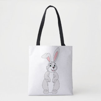 Cute Bunny on a Tote Bag