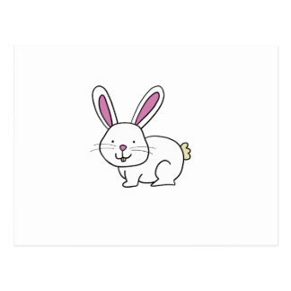 CUTE BUNNY RABBIT POSTCARD