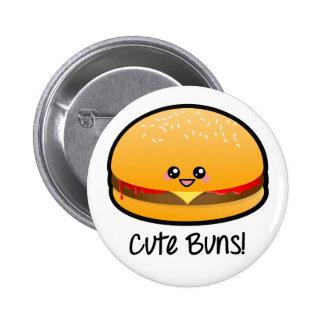 Cute Buns Buttons
