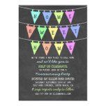 Cute Bunting Banners Home Sweet Home Housewarming 13 Cm X 18 Cm Invitation Card