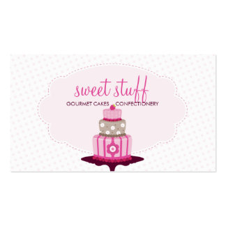 CUTE BUSINESS CARD :: sweet cakes bakery 1