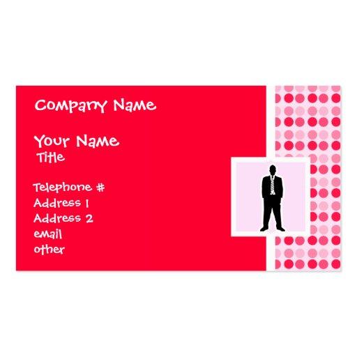 Cute Business Suit Business Card