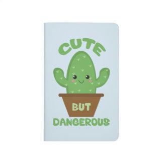 Cute But Dangerous - Kawaii Cactus - Funny Journal