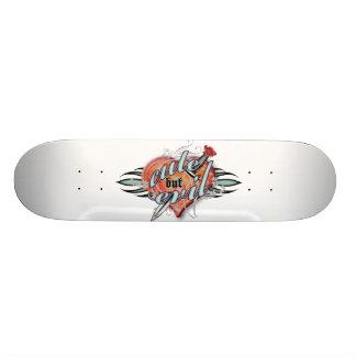 Cute but Evil Skateboard Deck