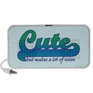 Cute, but Noisy Travelling Speaker