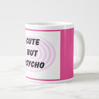 Cute but Psycho Jumbo Coffee Mug