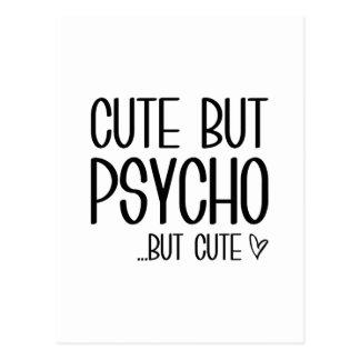 Cute But Psycho Postcard