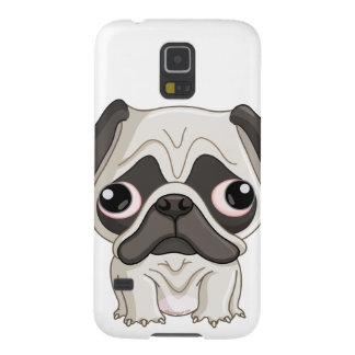 Cute But Sad Pug Puppy Cases For Galaxy S5