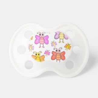 Cute butterflies pattern baby pacifier