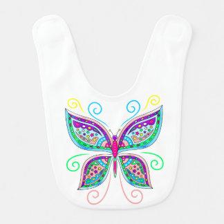 Cute Butterfly Baby Bib
