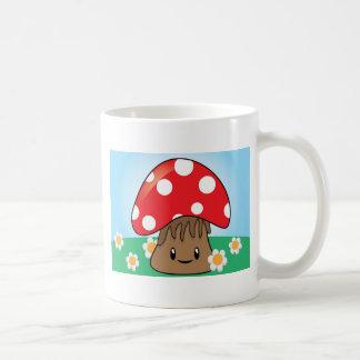 Cute Button Mushroom Mugs