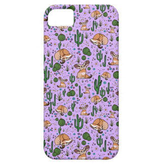 Cute Cactus and Fox Phone Case