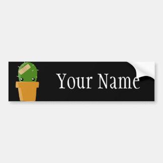 Cute Cactus Bumper Sticker