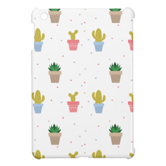 Cute Cactus iPad Mini Cover