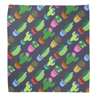Cute Cactus Pattern Bandannas