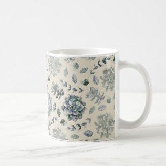 Cute Cactus Pattern Coffee Mug