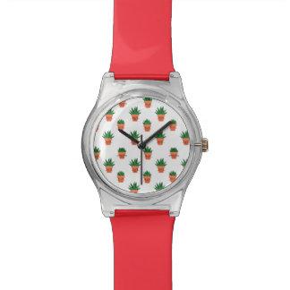 Cute Cactus Watch
