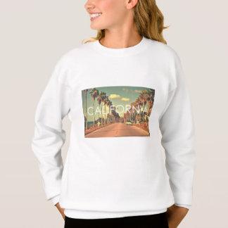 Cute California Sweatshirt: Girls 7-14 Sweatshirt