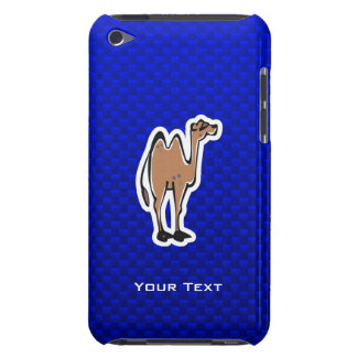 Cute Camel; Blue Barely There iPod Cases