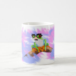 Cute camouflage Tree Frog Animal Painting Mug