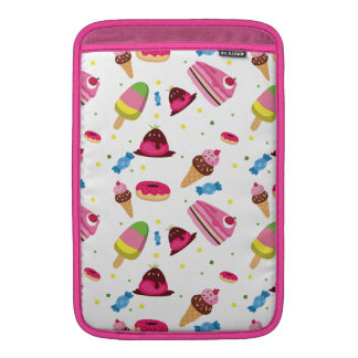 Cute candy and sweet colored pattern MacBook sleeve