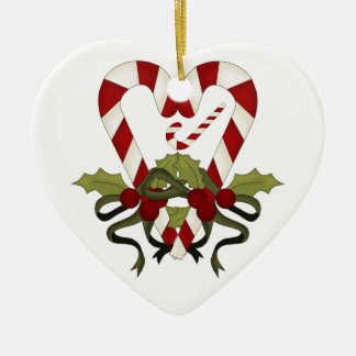 Cute Candy Cane We're Expecting Pregnancy Ornament