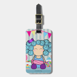 Cute Candy lover Luggage Tag