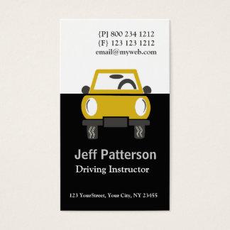 Cute Car Automobile Illustration Business Card