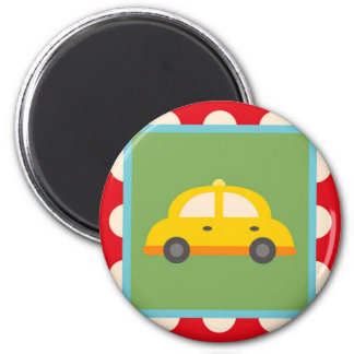 Cute Car Transportation Theme Baby Kids Gifts Magnet